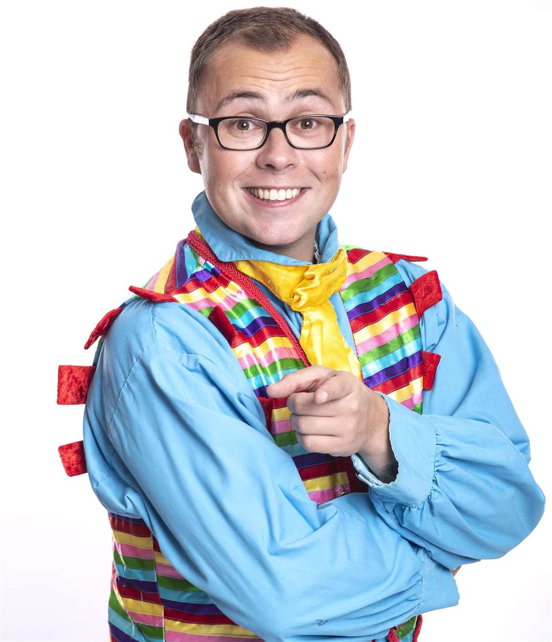 Joe Tracini will star in the Central Theatre's pantomime