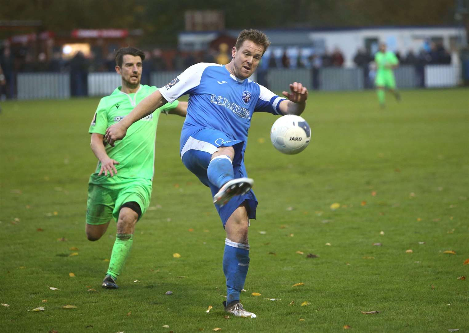 Sonny Miles in action for Tonbridge Angels Picture: David Couldridge
