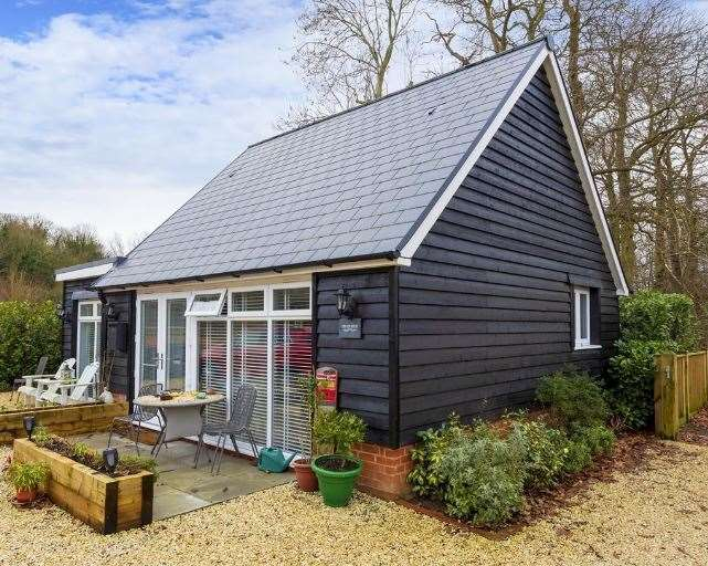 The detached two bed annexe