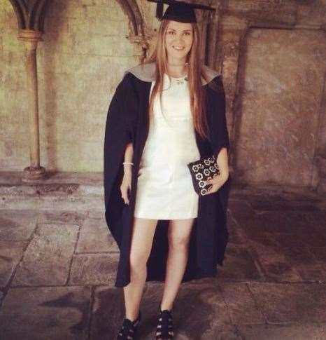 Fiona Tucker on her graduation day (13308410)
