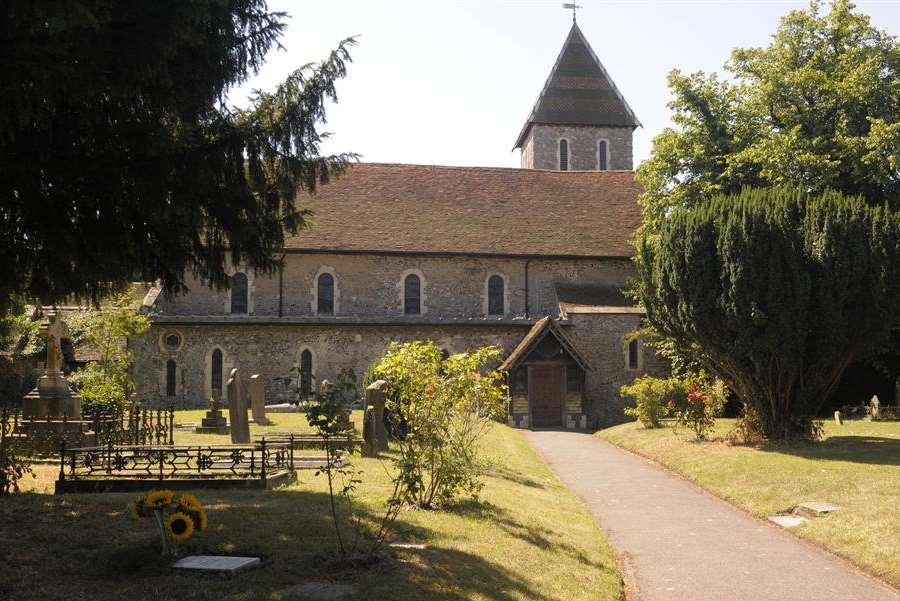St Mary Magdalene and St Lawrence Church, where Bob is said to be getting married in August this year