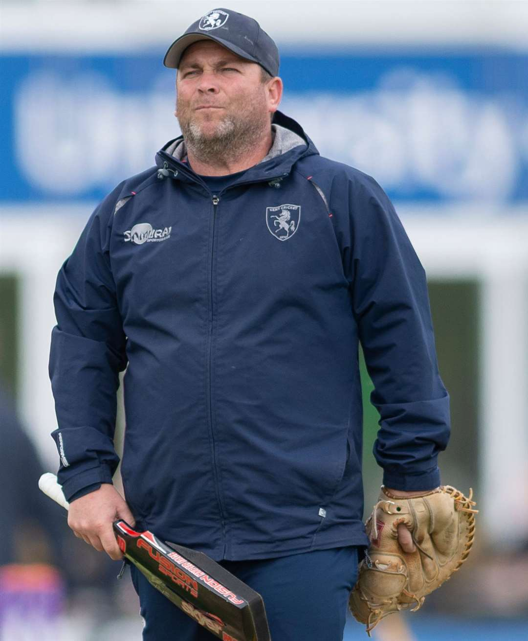 Kent head coach Matt Walker Picture: Ady Kerry