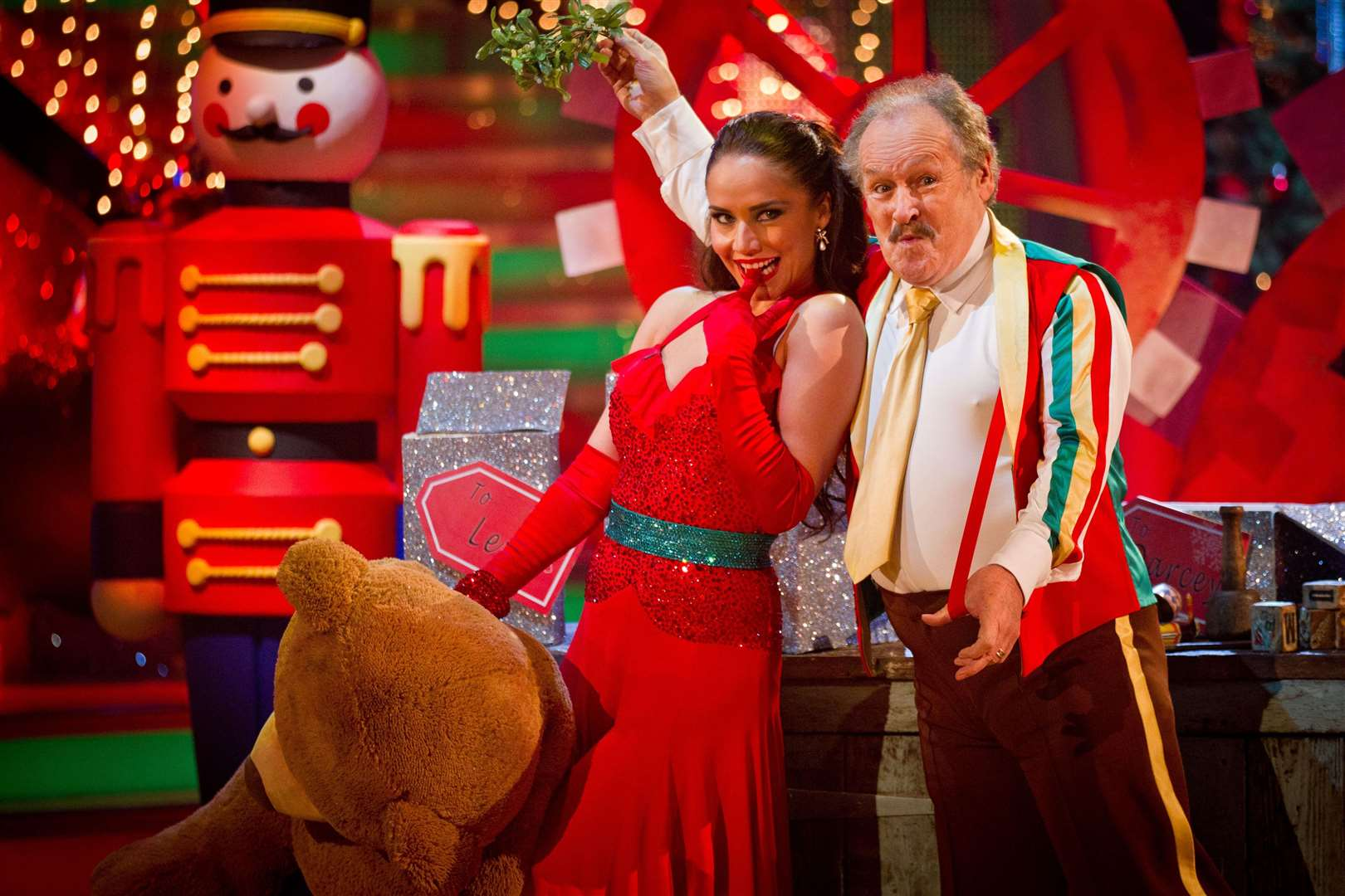 He appeared on the Strictly Come Dancing Christmas special in 2012 (PA)