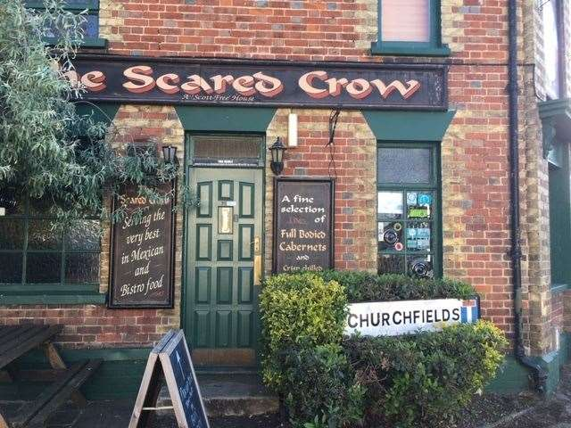 Hidden away in the back streets of West Malling, the Scared Crow is well worth taking the time and trouble to seek out.