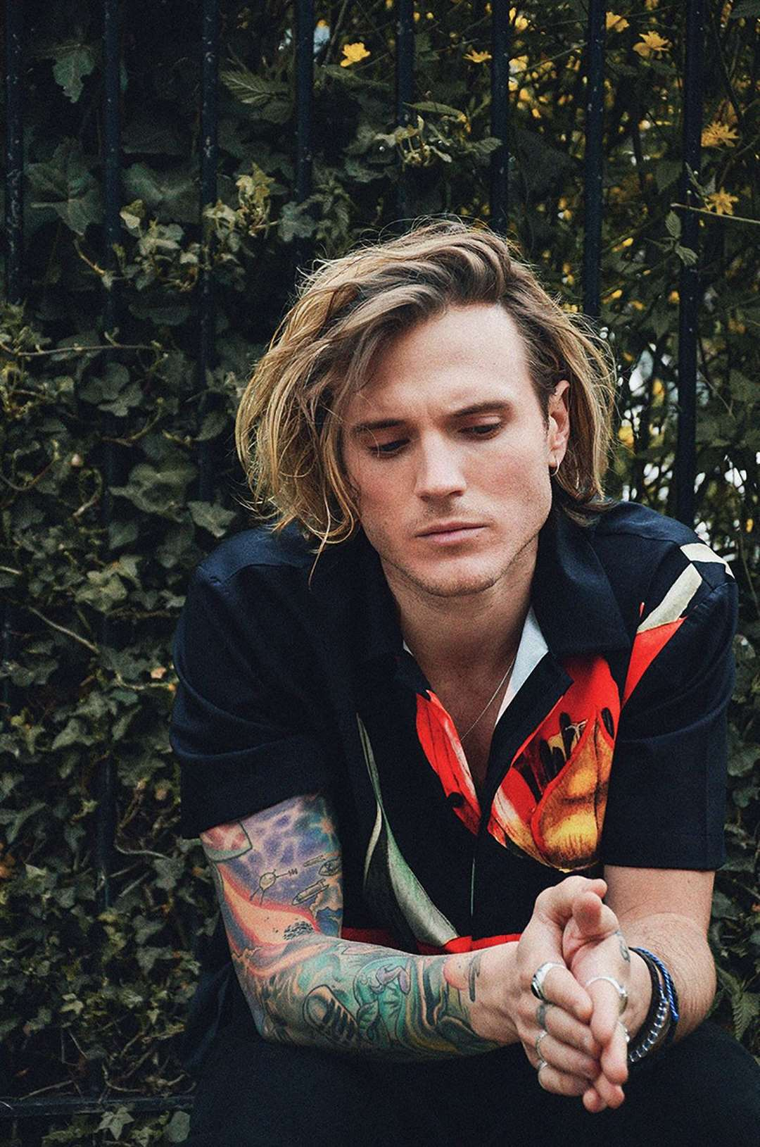 Pop star Dougie Poynter.