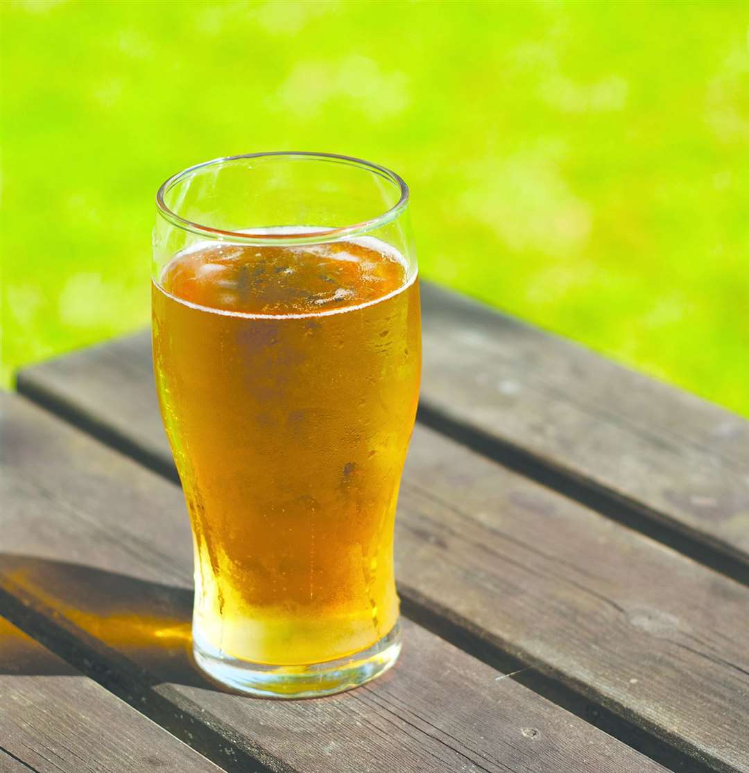 We asked Kent readers where they'd be going for a pint in an outdoor garden