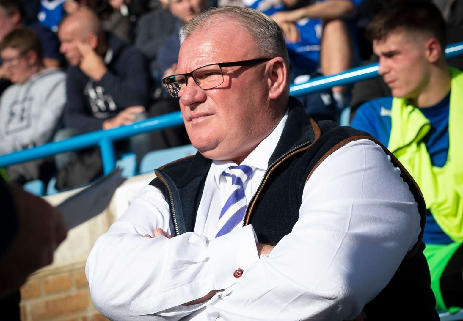 Gillingham manager Steve Evans. Picture: Ady Kerry