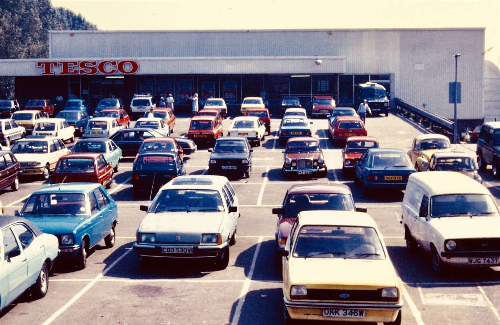 The store pictured in 1987 when it was Tesco. Picture: Steve Salter