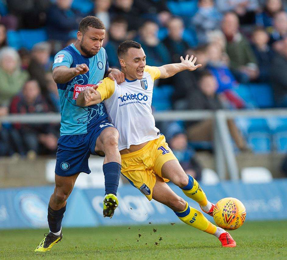 Graham Burke in action for the Gills Picture: Ady Kerry