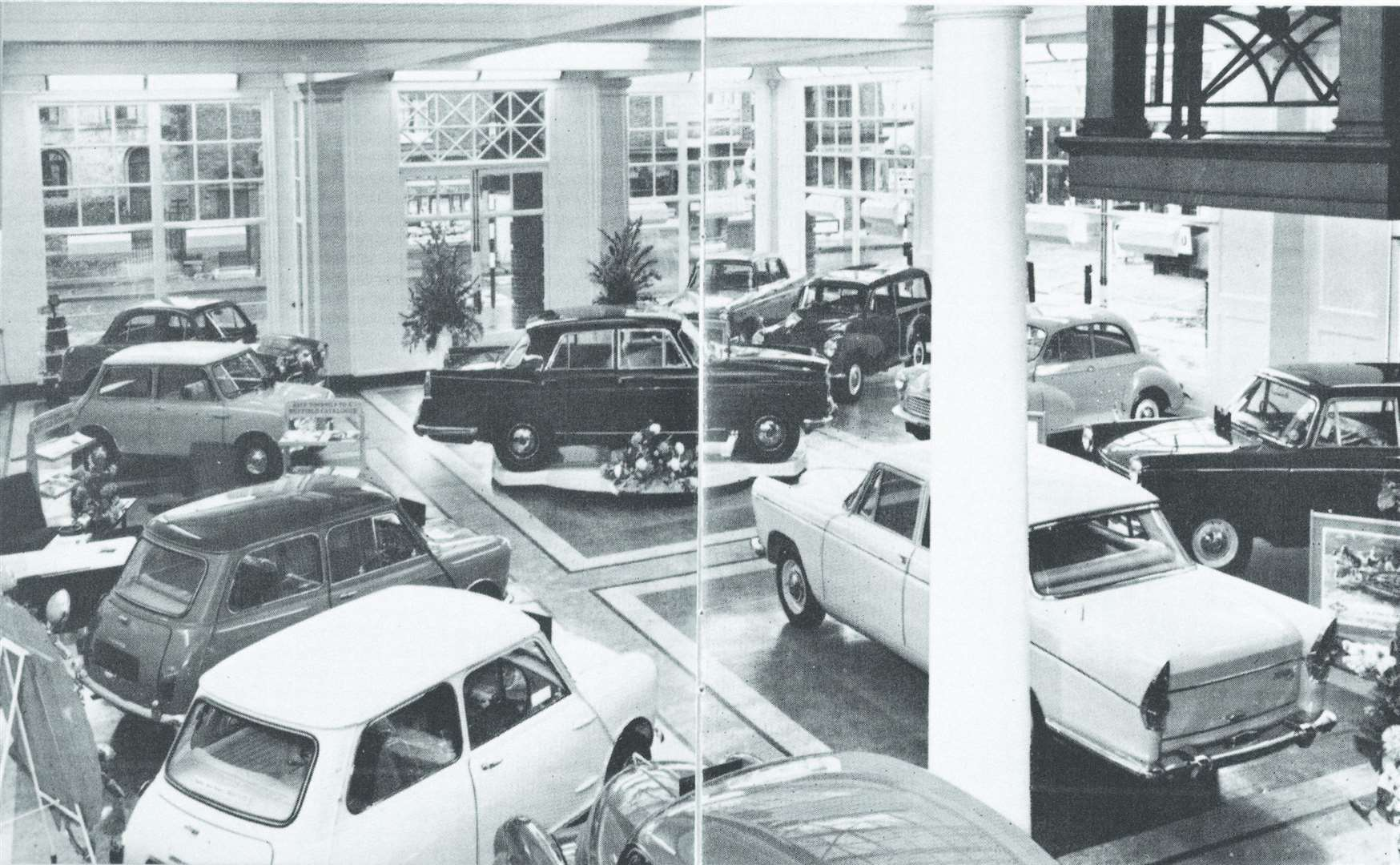 The Wetherspoon pub used to be a Beadles car showroom