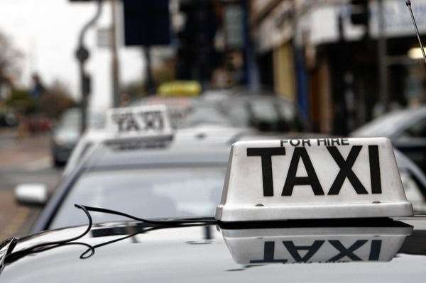 The taxi firm manager predicts a grave future for the industry. Picture: Peter Still