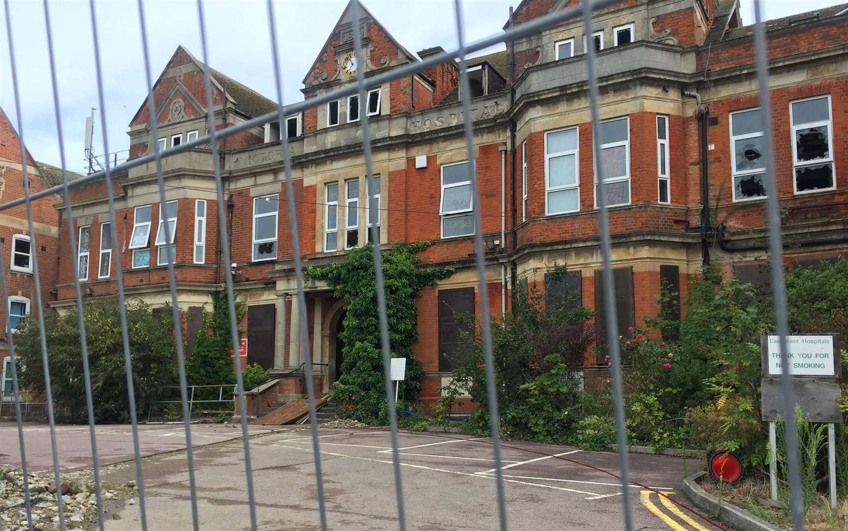 The Royal Victoria Hospital has been empty for years