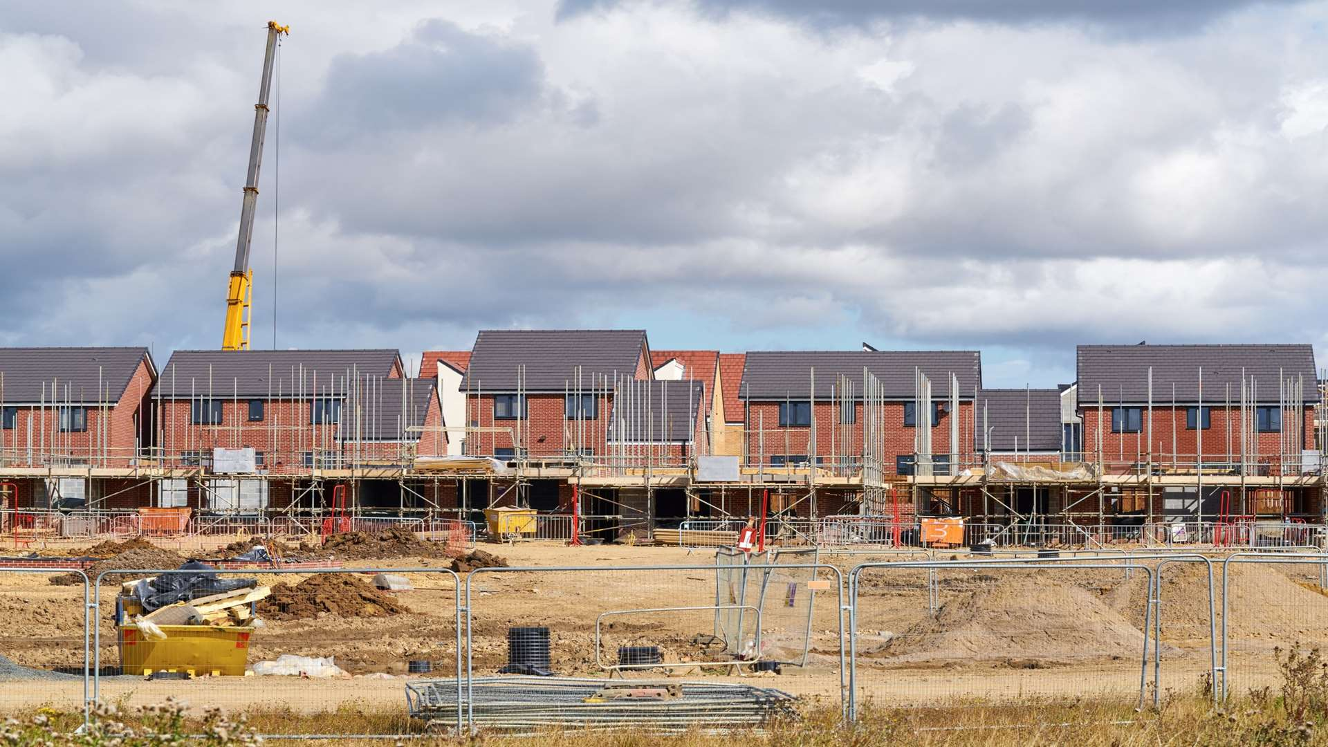 Ashford Borough Council had the biggest year-on-year fall for the number of dwellings completed