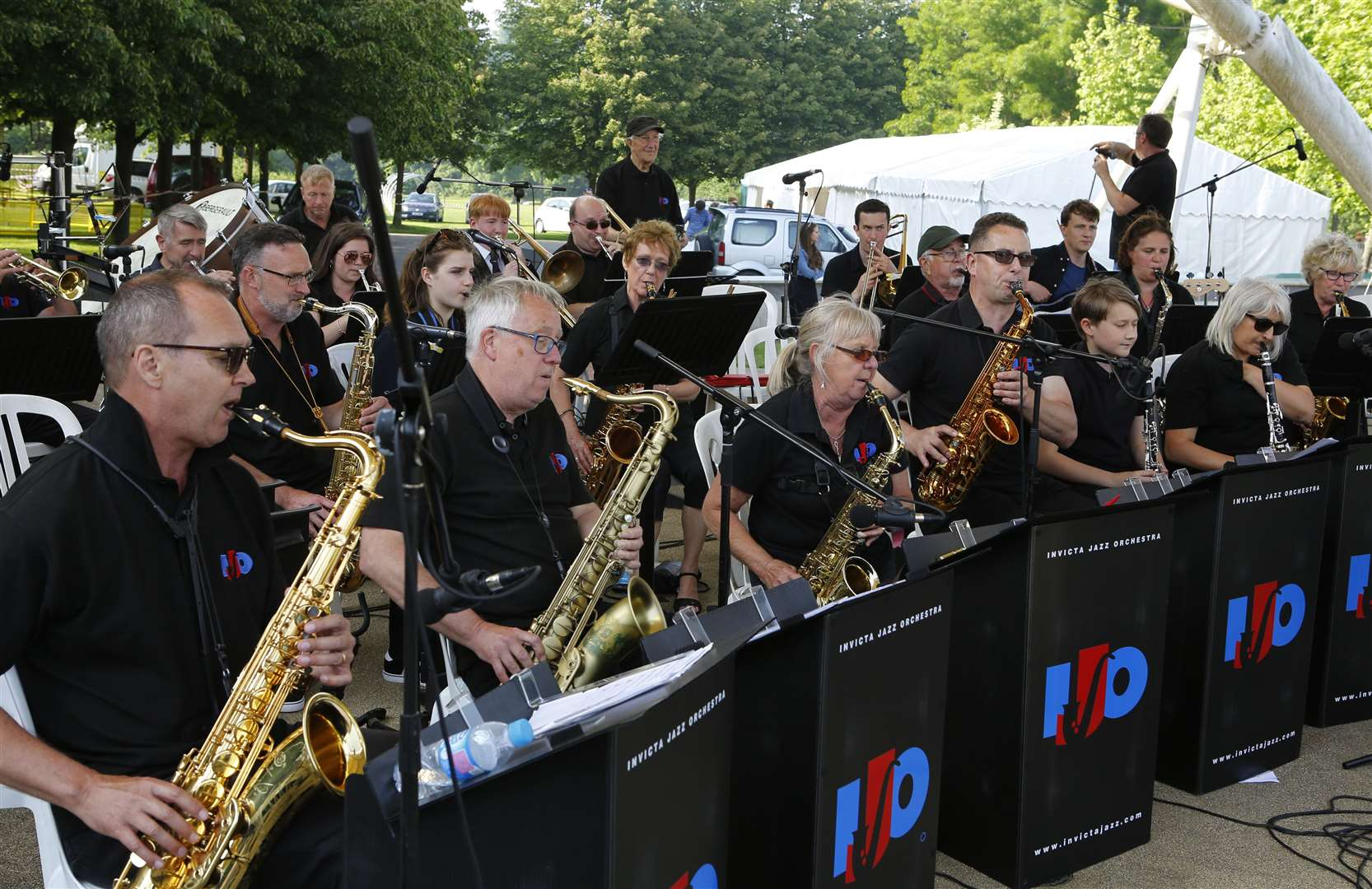 Invicta Jazz Orchestra perform last year Picture: Andy Jones