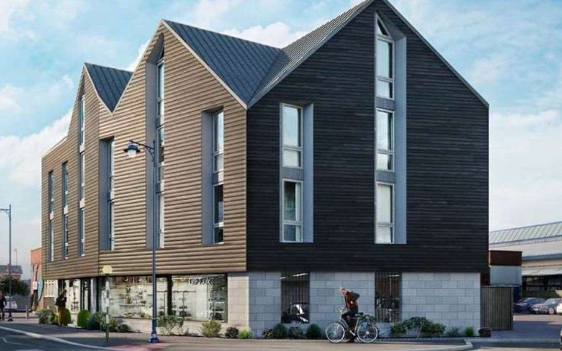 CGI of the Beach Walk development plans. Picture: APX Architecture