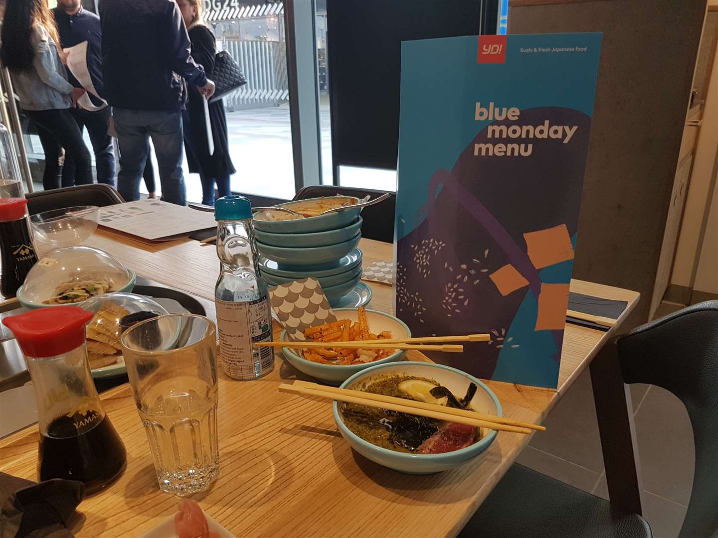 Yo!Sushi's Blue Mondays offer features 40 different food items for £4 every week. (10794669)