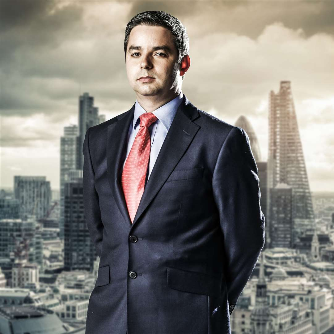 Felipe Alviar-Baquero appeared on The Apprentice in 2014 Picture: BBC/Boundless/Jim Marks Photography