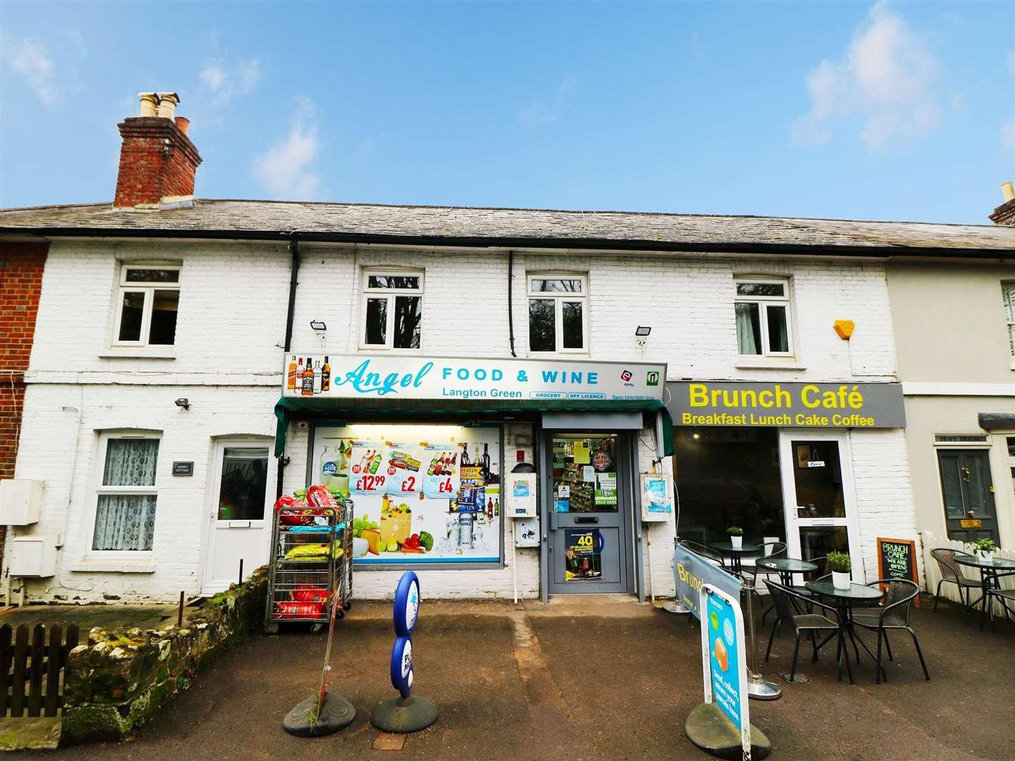 Angel Food & Wine retail unit in Langton Green is up for sale (7974471)