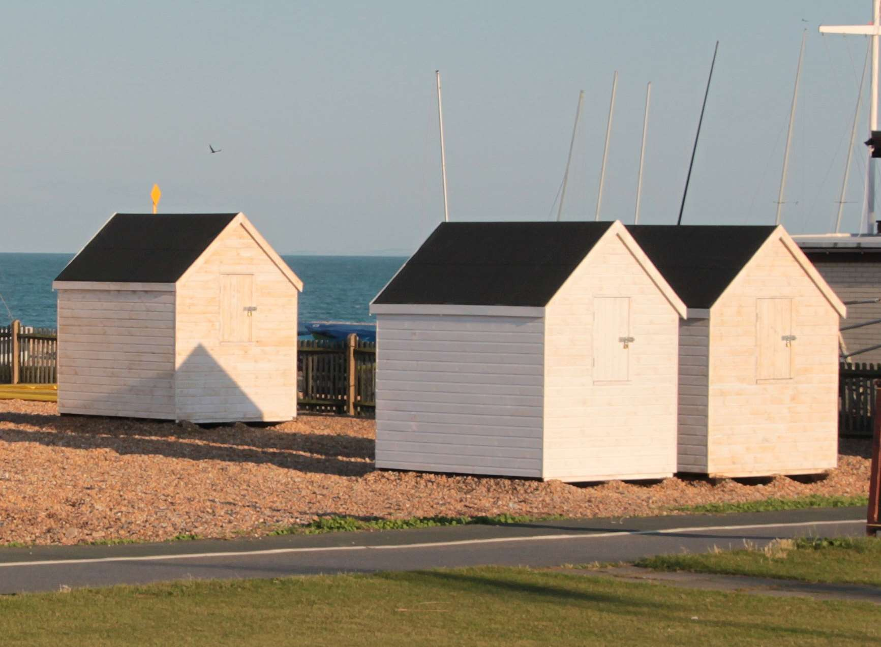 c4a451a057f The new beach huts will be identical in design to those installed in 2014.  Picture