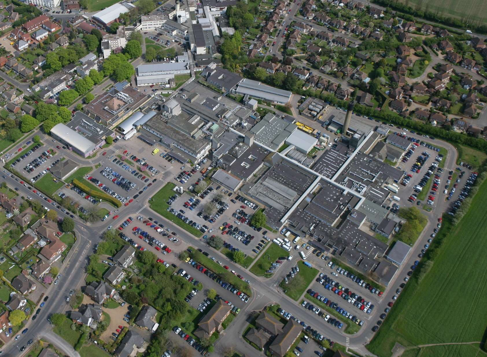 The Kent and Canterbury Hospital site