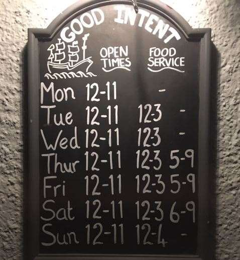Welcoming regulars and visitors seven days a week, you can't deny the consistency of the opening hours