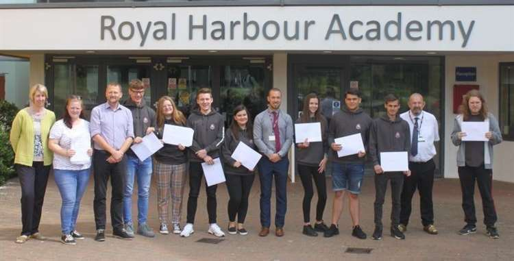 Students at Royal Harbour Academy