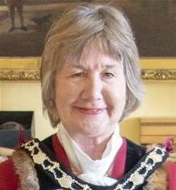 Mayor or Tunbridge Wells Borough Council, Cllr Joy Podbury. Stock picture