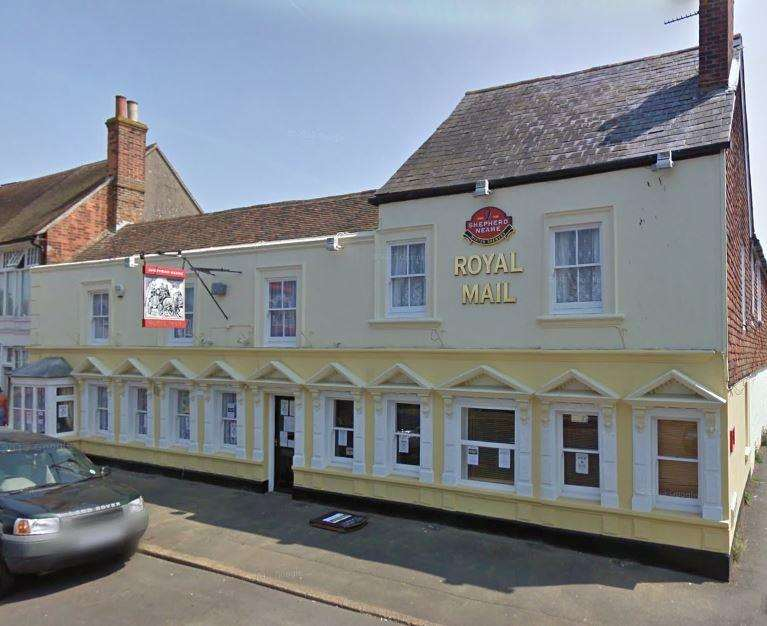 The Royal Mail, Lydd. Credit: Google Maps (6658590)
