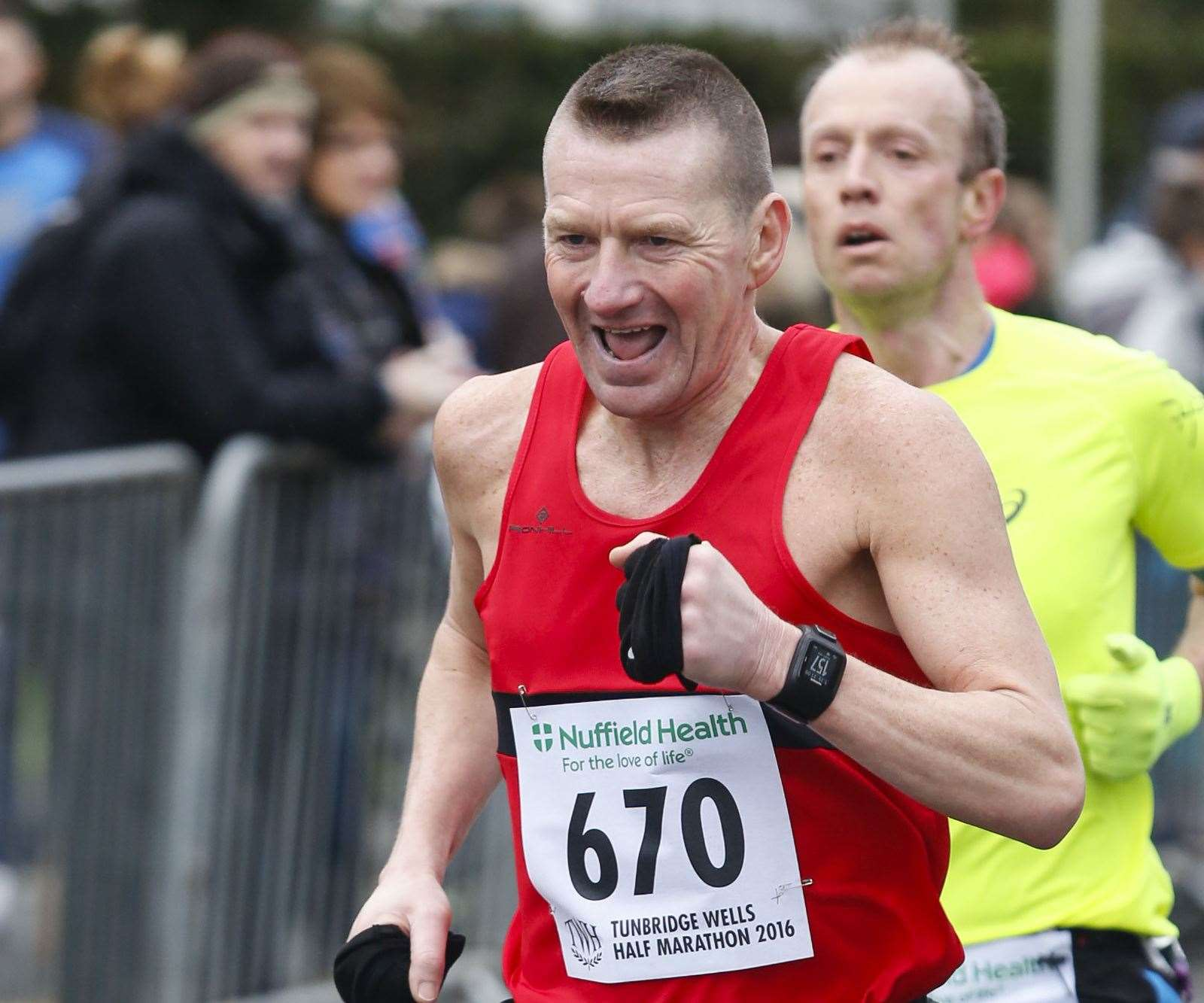 Medway & Maidstone AC's Bob Fursey had his best result yet