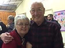 Dawn Cockburn shares Sheerness steel mill memories with Malcolm Grundy.