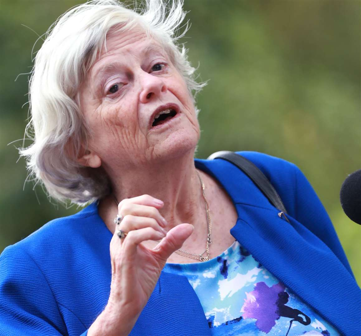 Former Tory MP Ann Widdecombe joined the Brexit Party