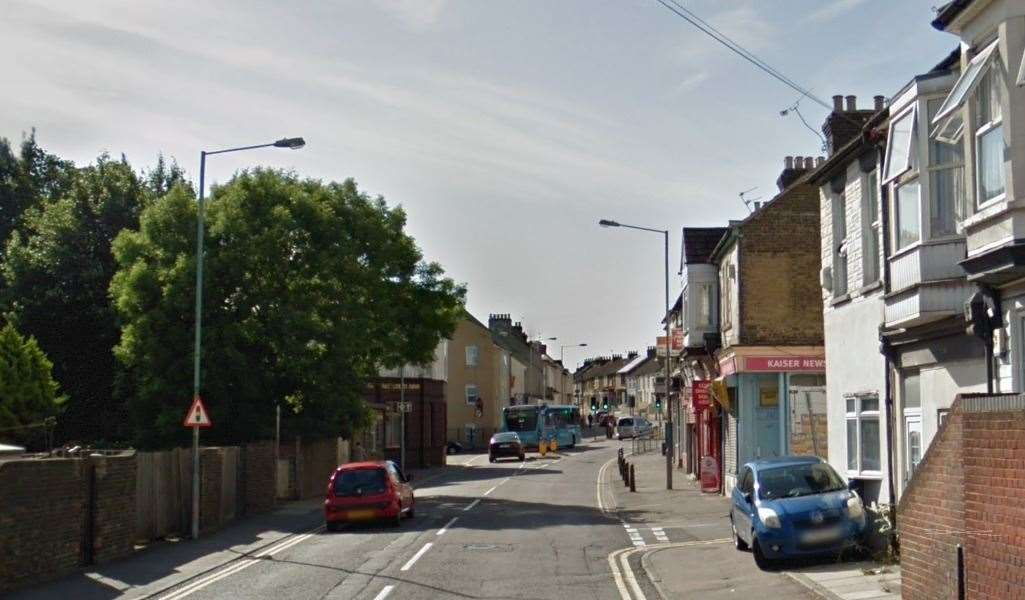 Canterbury Street in Gillingham. Picture: Google Street View