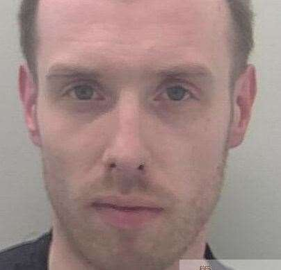 David Peters of Dray Gardens Brixton, was clocked at 135mph. Picture: Kent Police