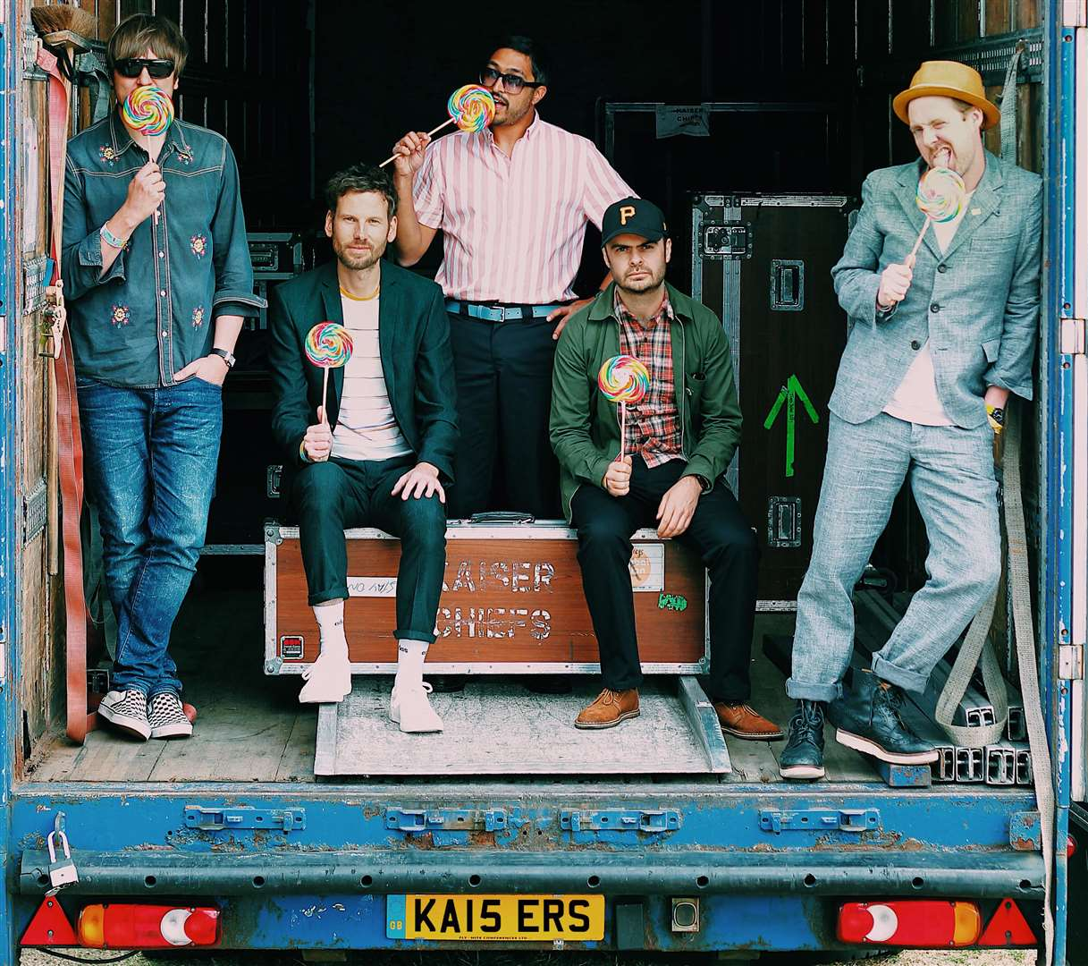 Kaiser Chiefs will be playing in Margate. Picture: Universal Music Group