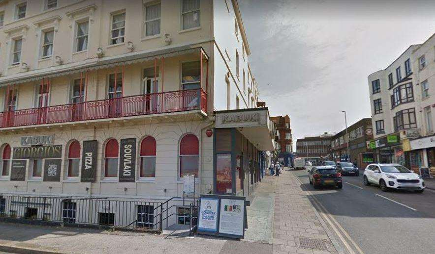 A man is thought to have been stabbed at Kabuki in Margate. Picture: Google Street View