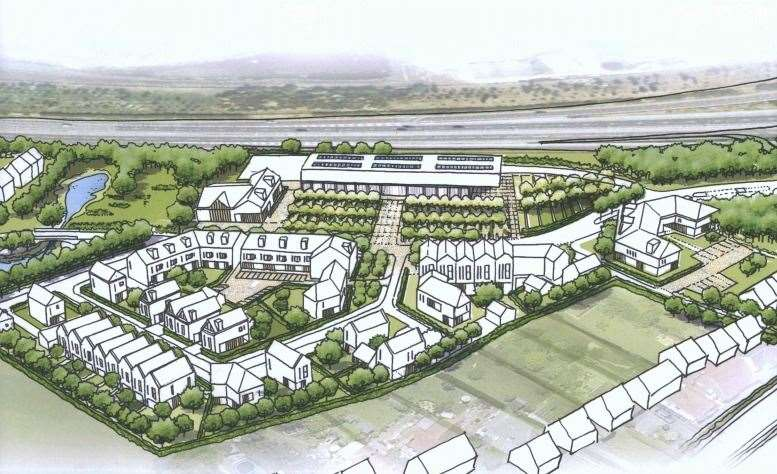 A picture of how the site in Herne could look