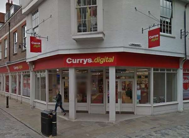 Currys in Burgate, Canterbury, is set to become a restaurant