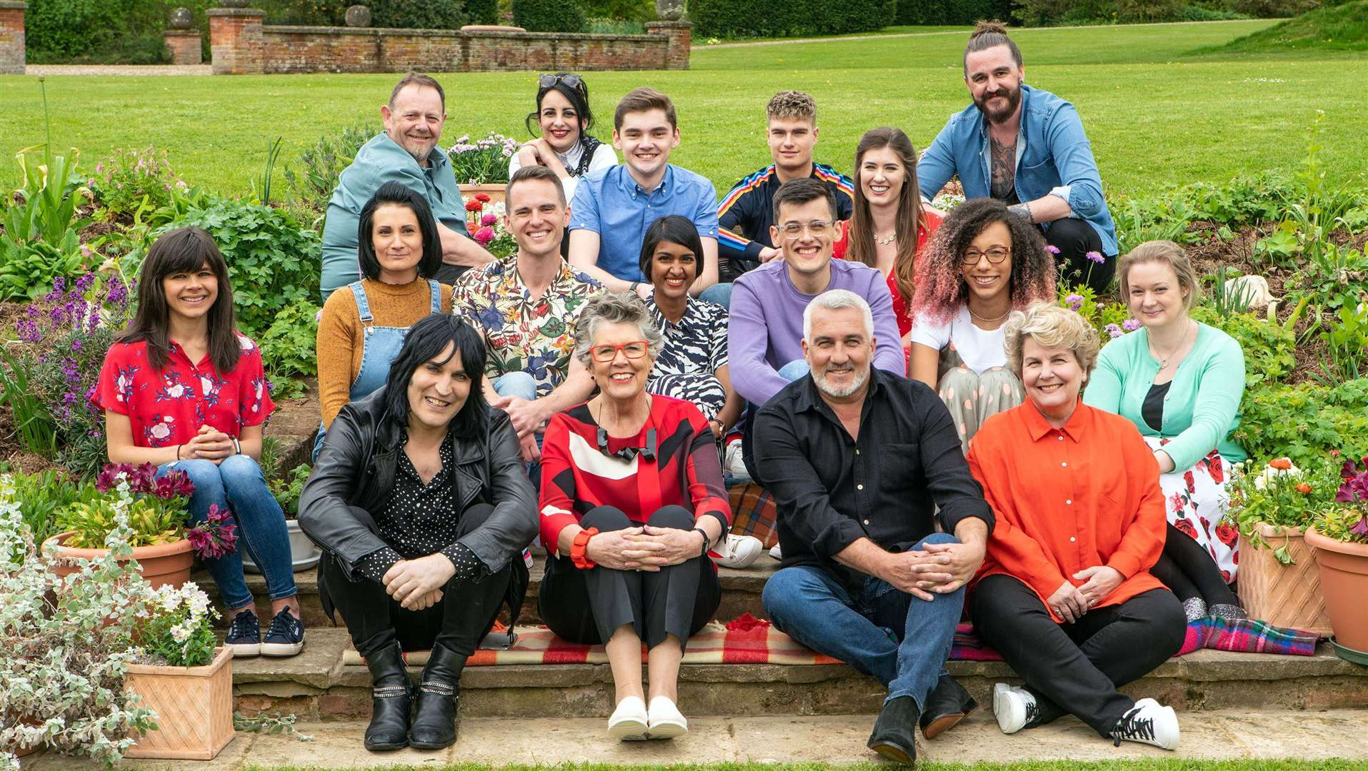 Bake Off is back this week with a new batch of hopefuls Picture: PA Photo/Channel 4/© Love Productions/Mark Bourdillon