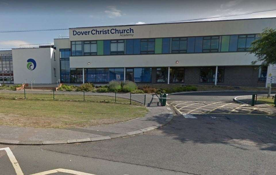 Dover Christ Church Academy. Picture; Google Maps
