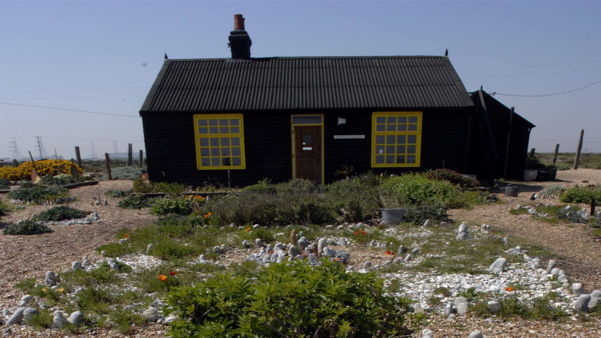 Prospect Cottage, artist Derek Jarman's former home and garden on the shingle at Dungeness. Picture: Gary Browne