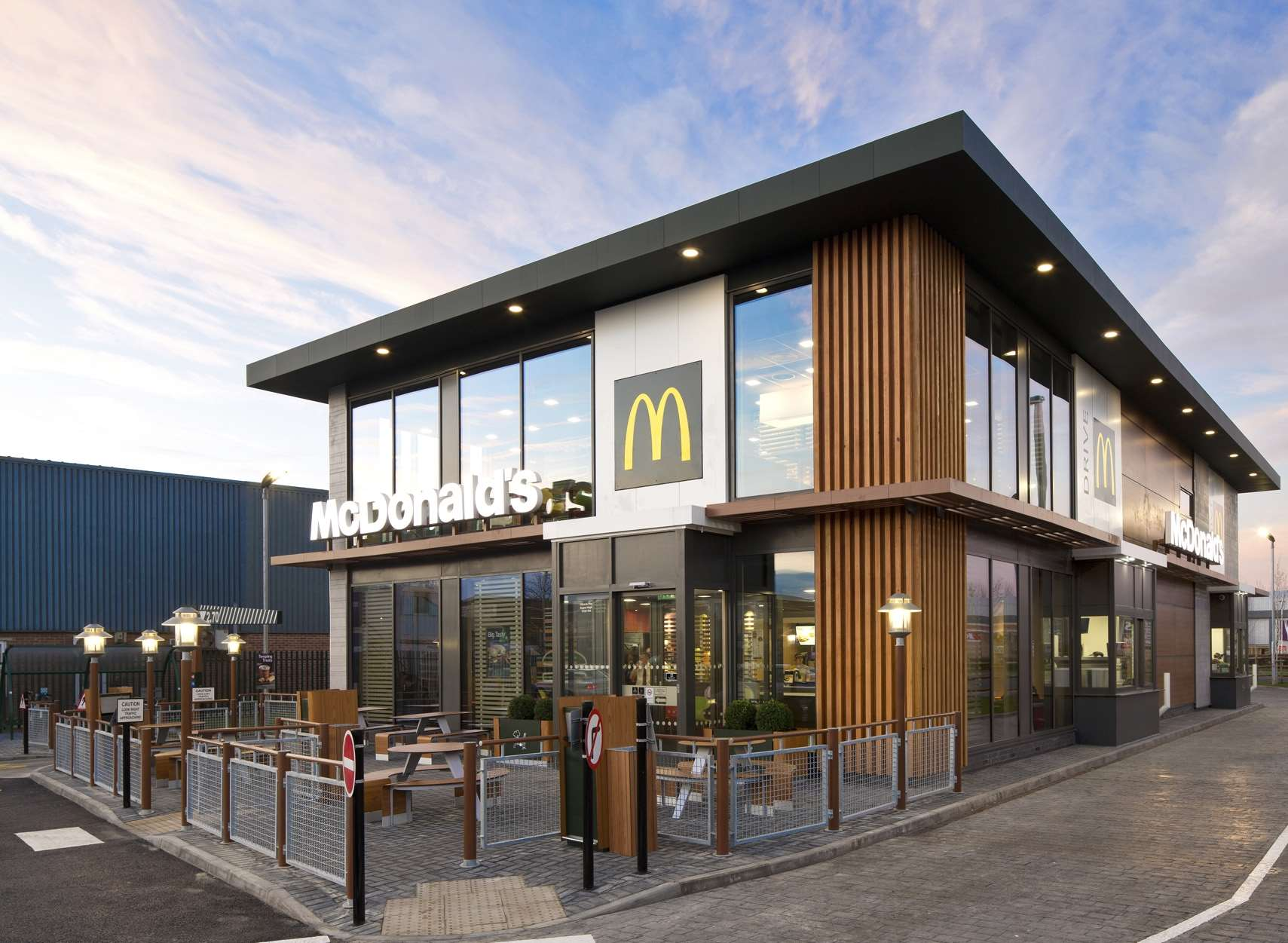 Mcdonalds Restaurant In Cannon Lane Tonbridge Given Approval
