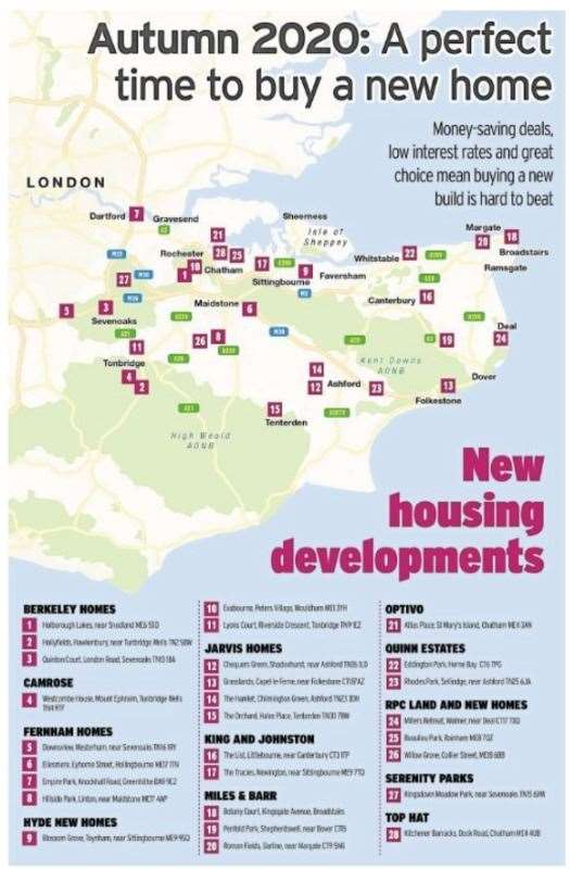 It's an exciting time for new housing developments in the county.