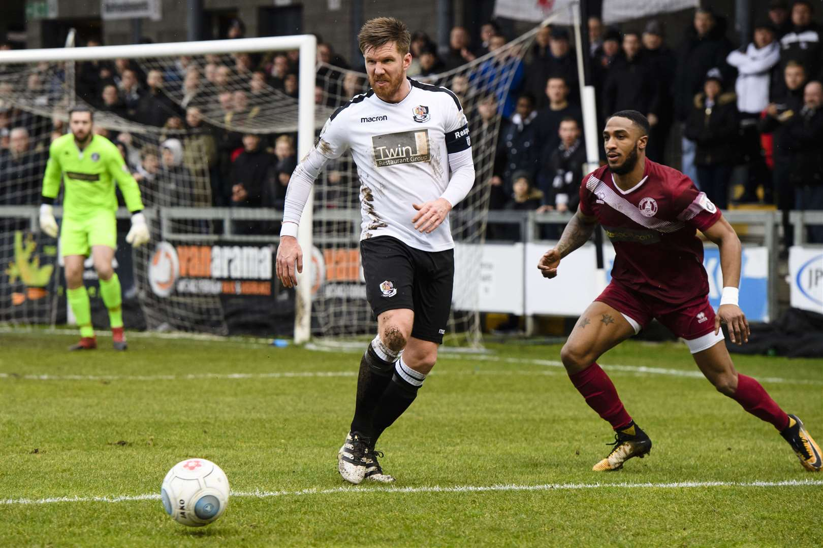 Elliot Bradbrook has played almost 450 games for Dartford Picture: Andy Payton
