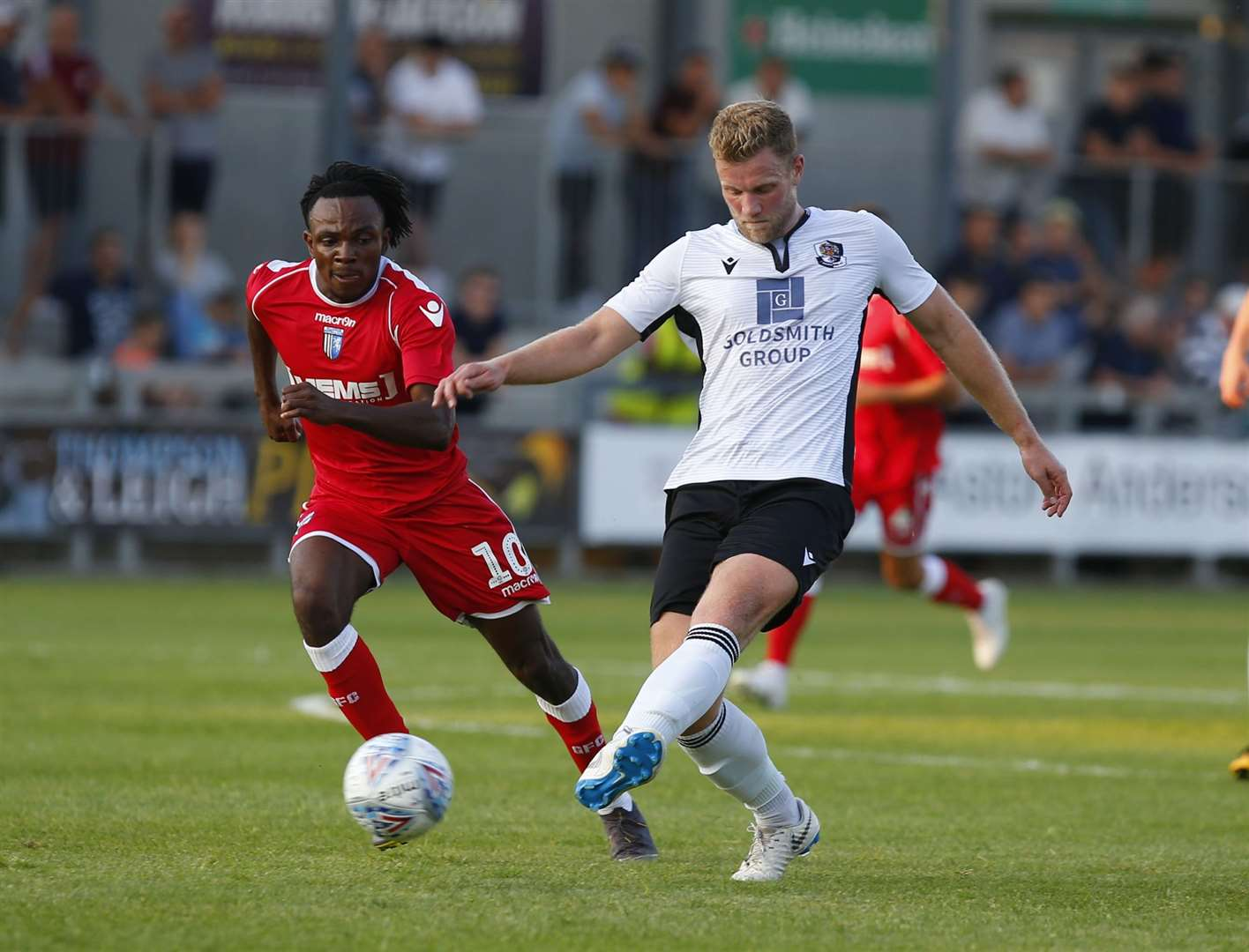 Josh Hill has started Dartford's first five games of the season Picture: Andy Jones