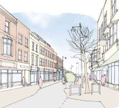 It is hoped the development at the former Scruffy Ducks site will transform William Street. Picture: Clague Architects