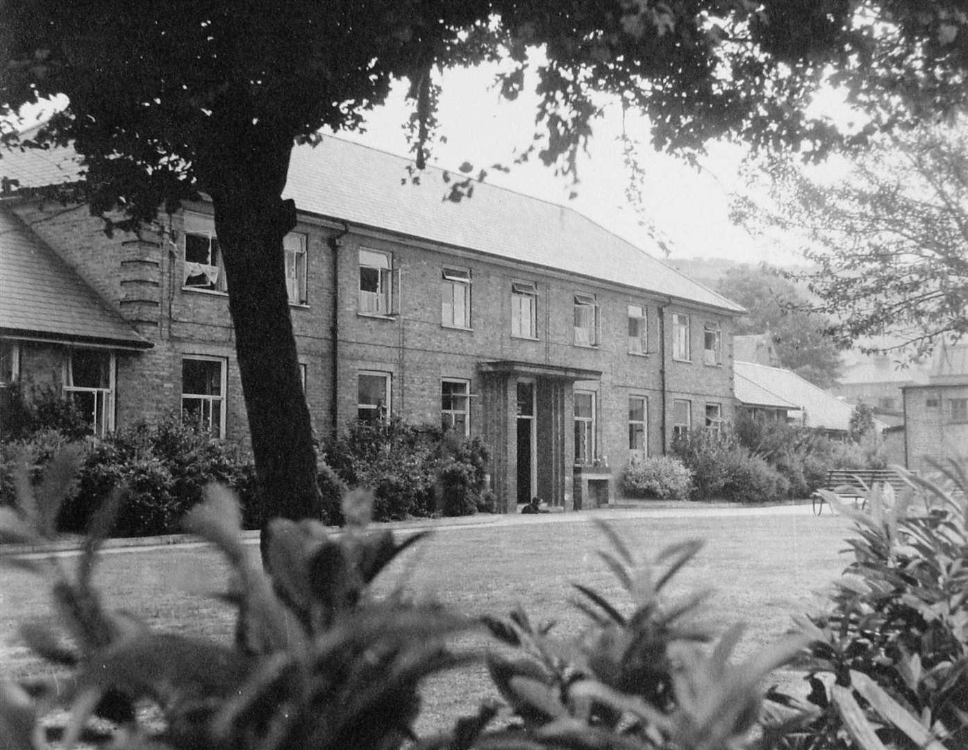 Buckland Hospital circa 1950. Courtesy of Dover Library