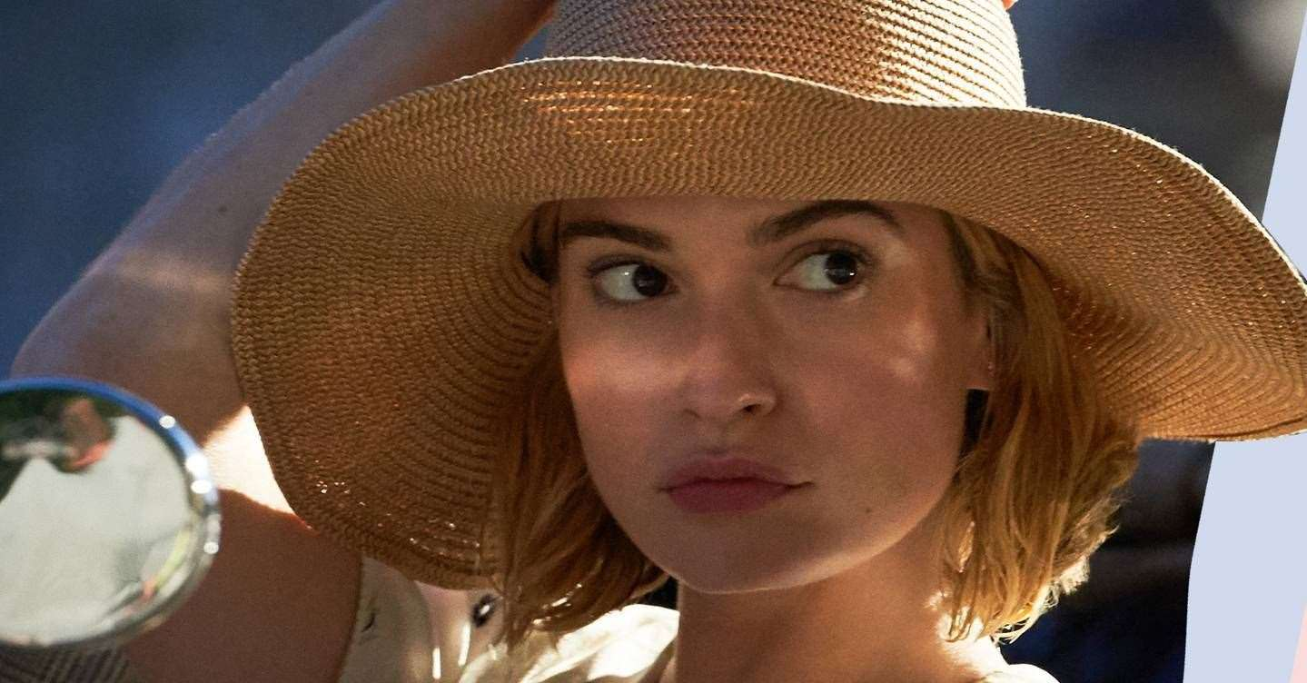 Lily James stars in Rebecca on Netflix