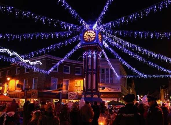 Sheerness Christmas lights. But will there be enough cash to bring them back this year?