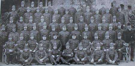 Dover police picture underlines differences between 1909 and