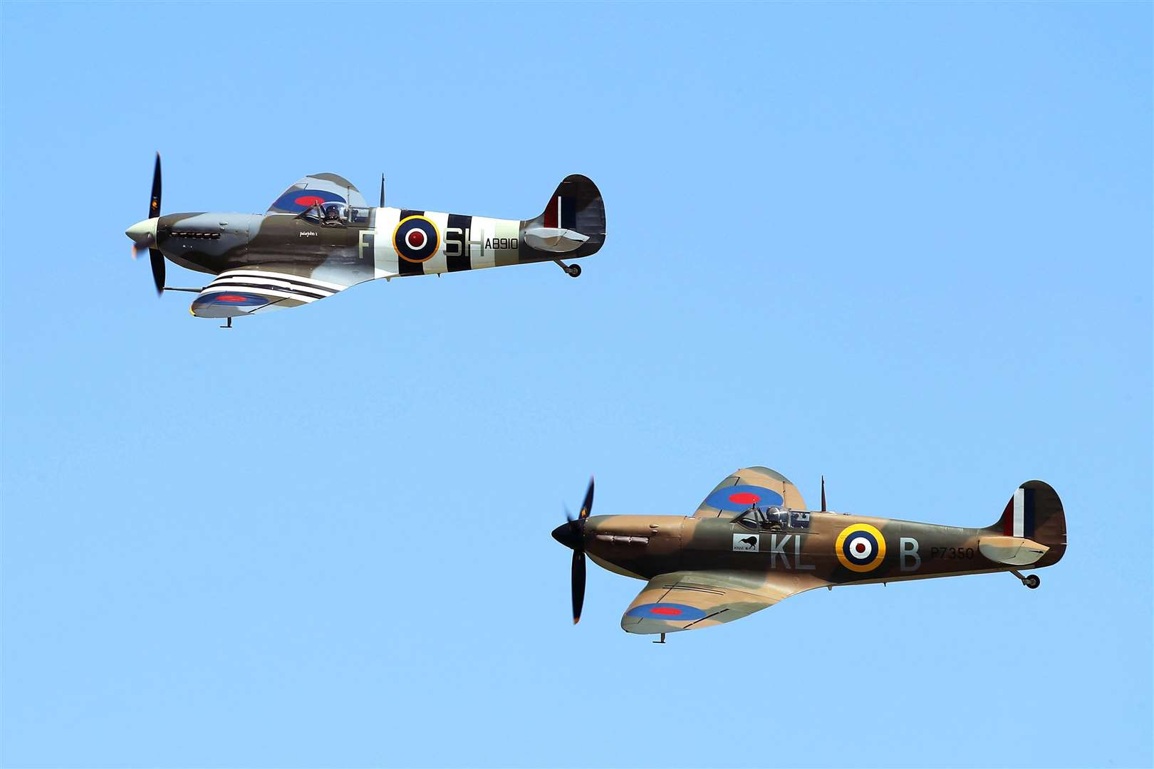 Spitfires played a crucial role in the Battle of Britain. Picture: PA